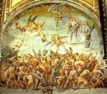 Frescoes-In-The-Cathedral-Of-Orvieto,-Scene-The-Damned