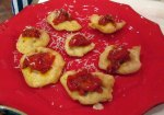 little fried pizzas