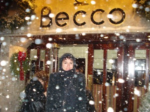 outside Becco