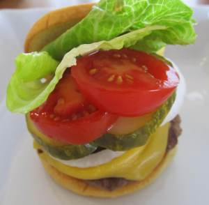 Faux Shake Shack Burger